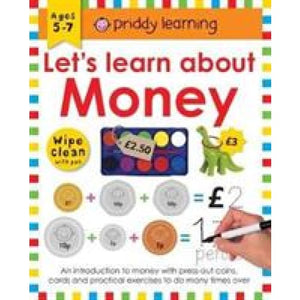 Wipe Clean Workbook Money - Priddy Books 9781783416080