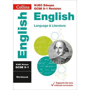 WJEC Eduqas GCSE 9-1 English Language and Literature Workbook - HarperCollins Publishers 9780008326920