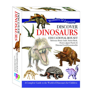 Wonders of Learning: Discover Dinosaurs - North Parade 9781783735198