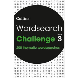 Wordsearch Challenge book 3: 200 Themed Puzzles - HarperCollins Publishers 9780008343866