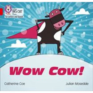 Wow Cow!: Band 2b/Red B - HarperCollins Publishers 9780008251499