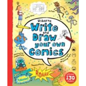 Write and Draw Your Own Comics - Usborne Books 9781409564256