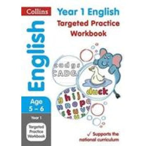Year 1 English Targeted Practice Workbook: Key Stage - HarperCollins Publishers 9780008201647