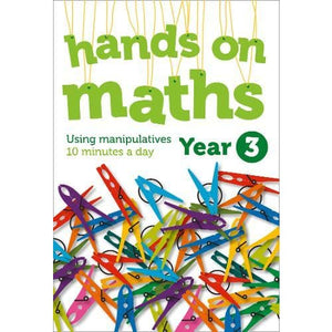 Year 3 Hands-on maths: 10 Minutes of Concrete Manipulatives a Day for Maths Mastery - HarperCollins Publishers 9780008266974