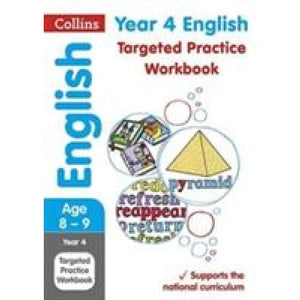 Year 4 English Targeted Practice Workbook: Key Stage 2 - HarperCollins Publishers 9780008201661
