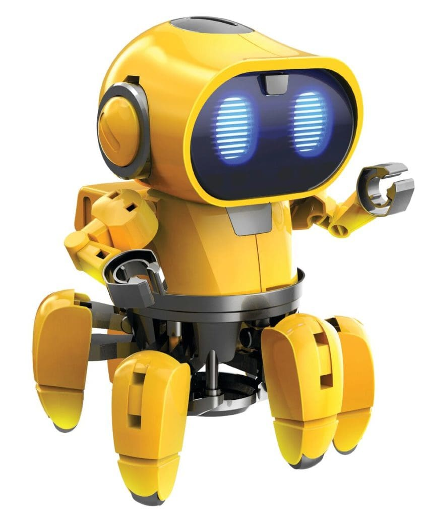 tobbie the robot from brightminds toys