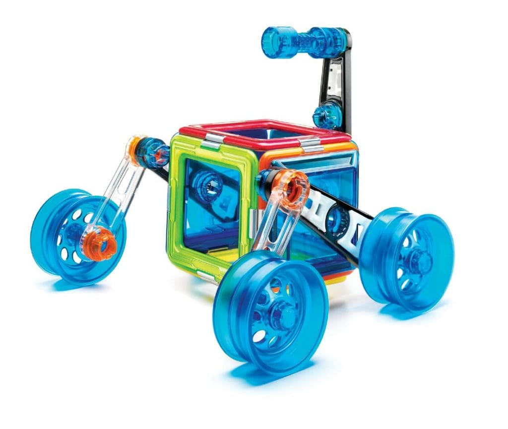 GeoSmart Moon Lander toy from BrightMinds Toys