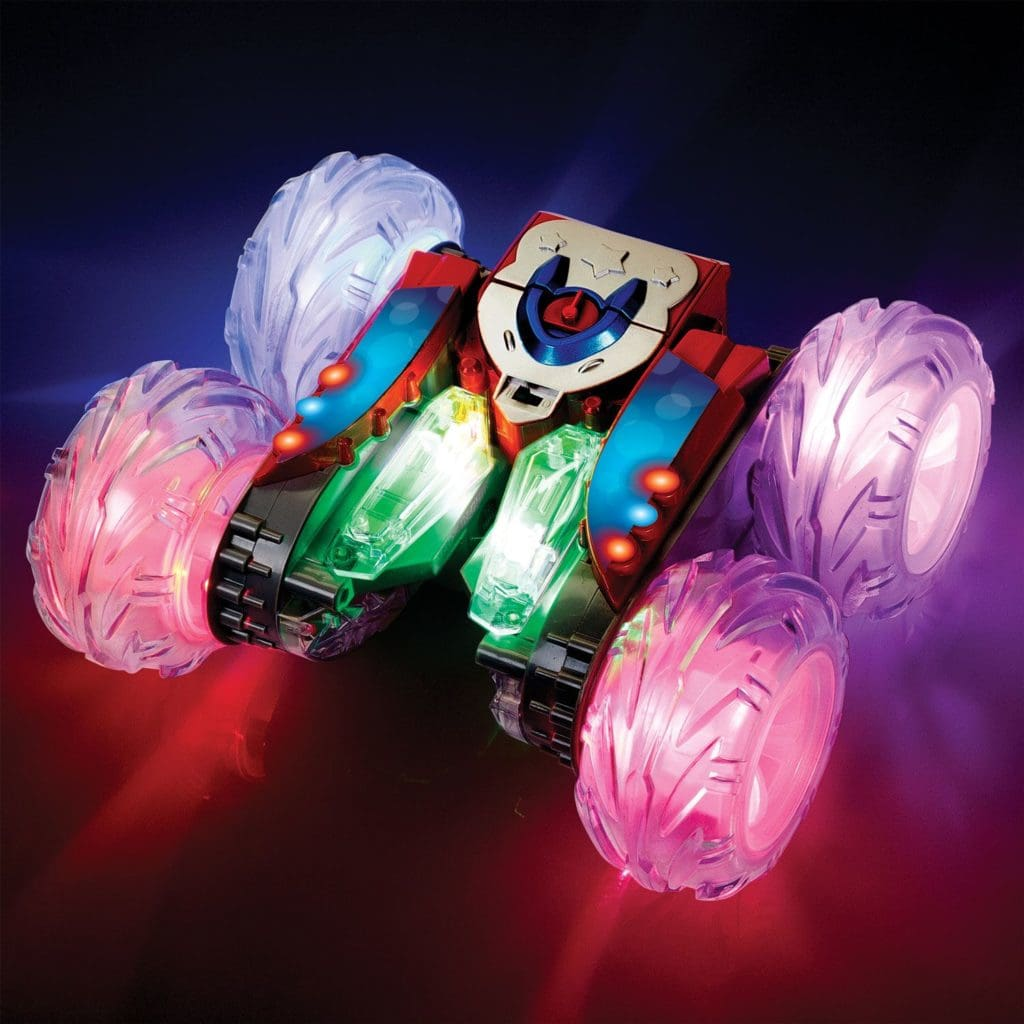remote toy. stunt racer 360. BrightMinds toys