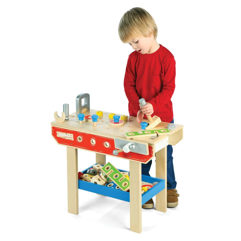 Tidlo toy workbench. Bright minds