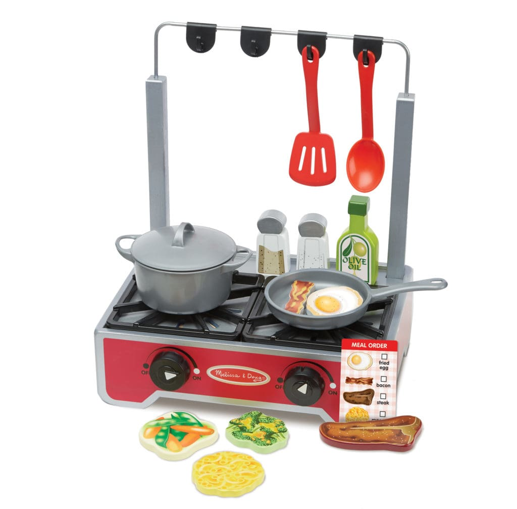 melissa doug cooktop set. brightminds