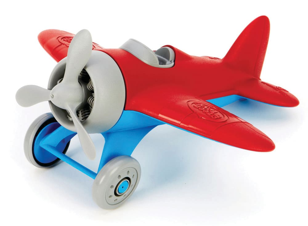 green toys airplane redwings toy