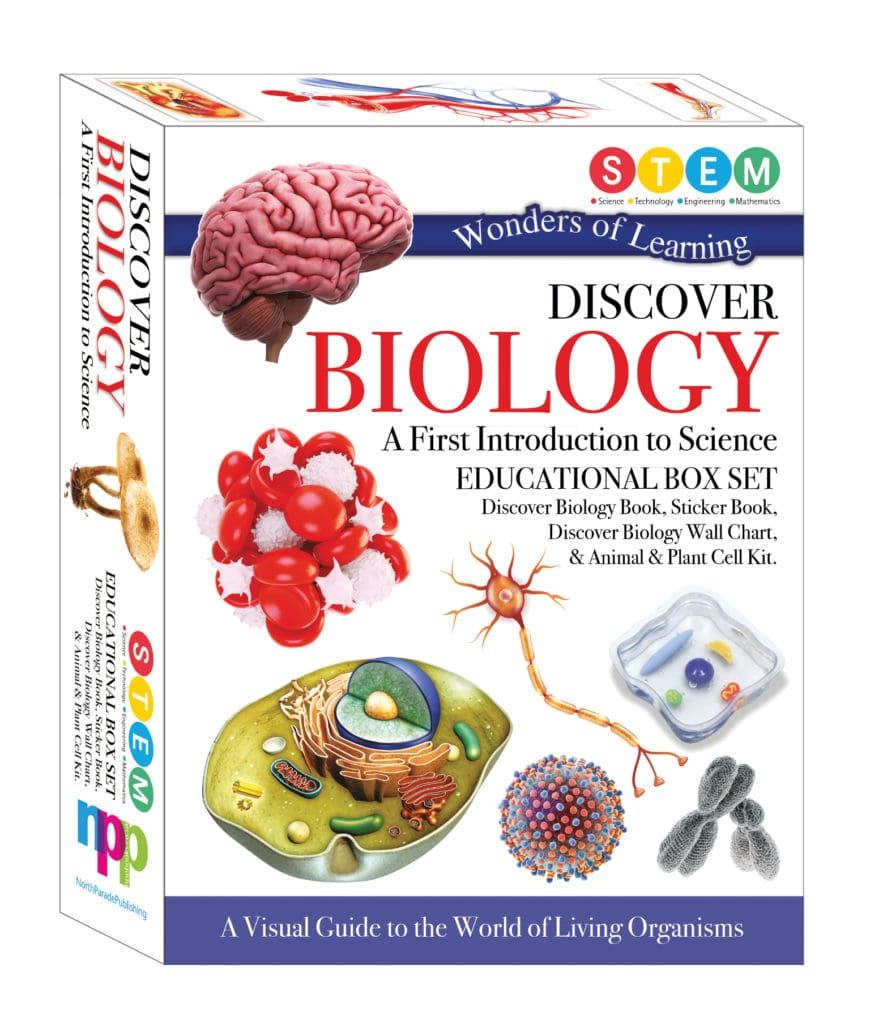 Wonders of learning sticker book Discover Biology. BrightMinds Toys.jpeg