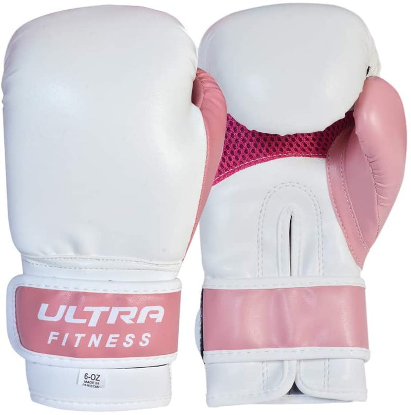 Kids boxing punch bag with 6oz gloves