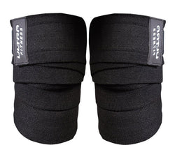 Knee Wraps Black - ULTRA FITNESS
