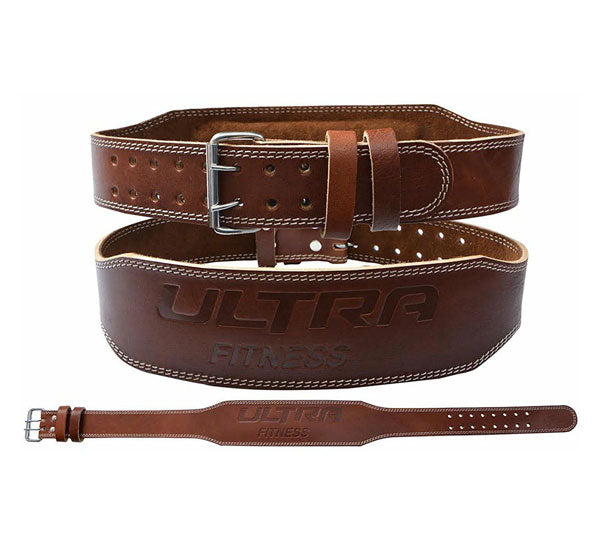 Leather Weight Lifting Belt 4 Inches