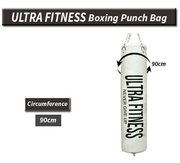 ULTRA FITNESS Boxing punch bag with Gloves and Hanging Chain