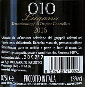 010 Lugana 2016 D.O.C. Lombardei, 75cl-Weisswein-MeVino GmbH