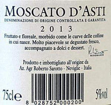 Moscato d'Asti DOCG 2016 75 cl-Weisswein-MeVino GmbH