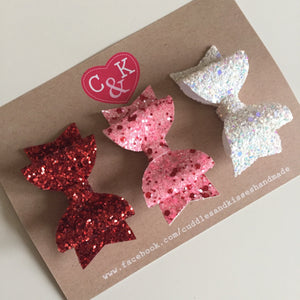 Exclusive valentines set of 3 mini clips