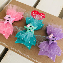 Set of 3 mini star bows