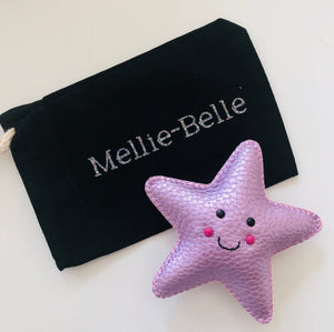 Worry star with personalised pouch