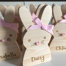 Personalised wooden bunny (small)
