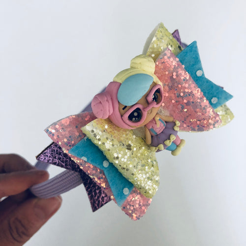 LOL doll inspired pastel bow