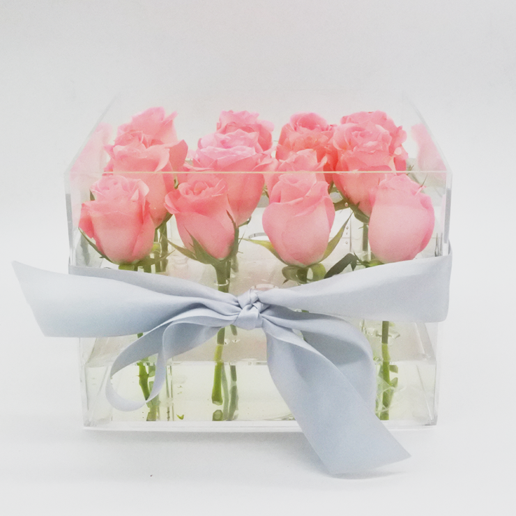 Crystal Clear Love - Rose Pink