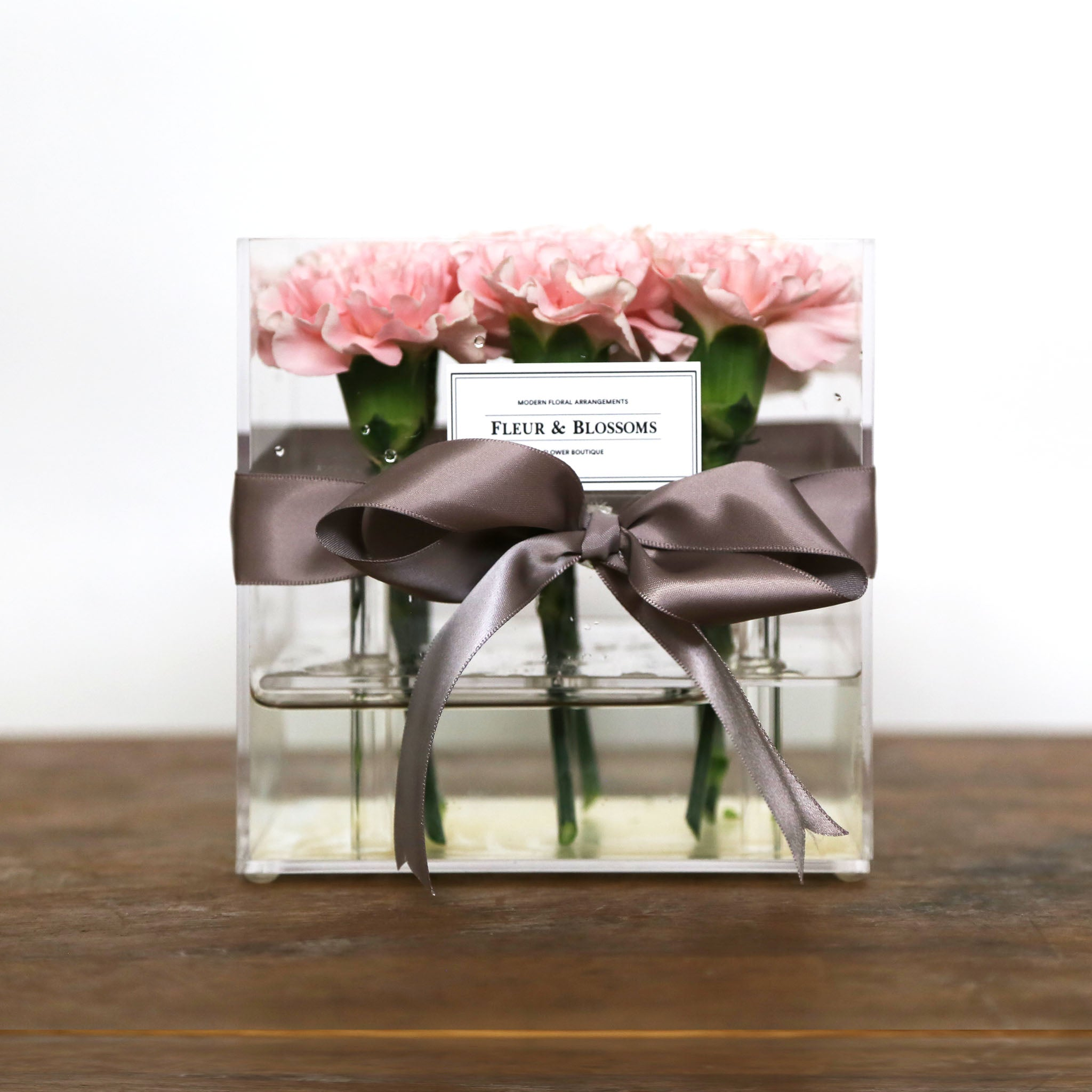 Crystal Box Carnations