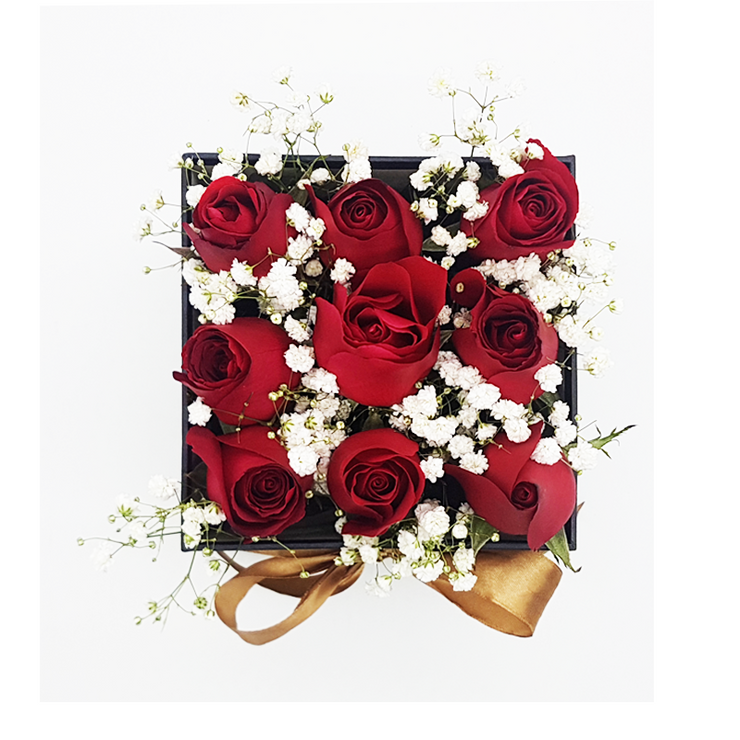 Take My Breath Away Box - Red Roses