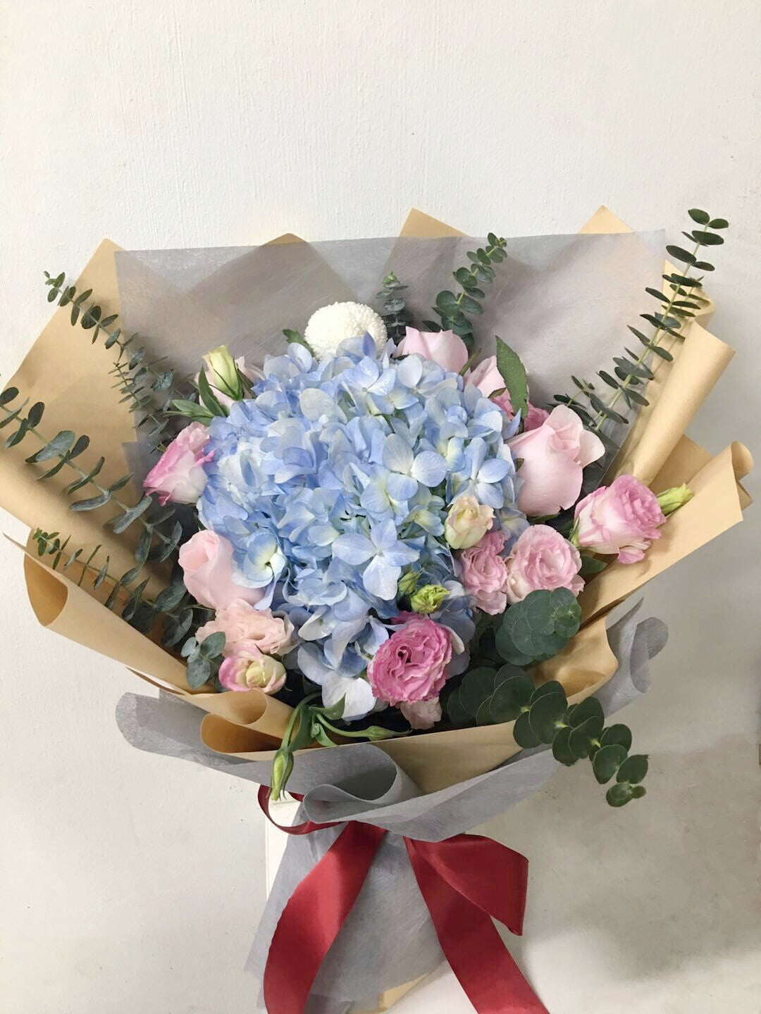 Blue Spring's Day Bouquet