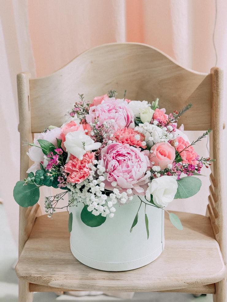 Peonies Bloom Bucket