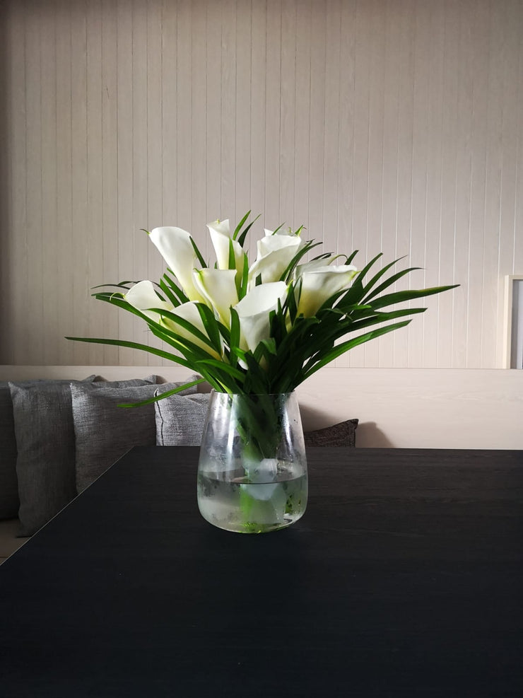 Calla Lilies Table Floral