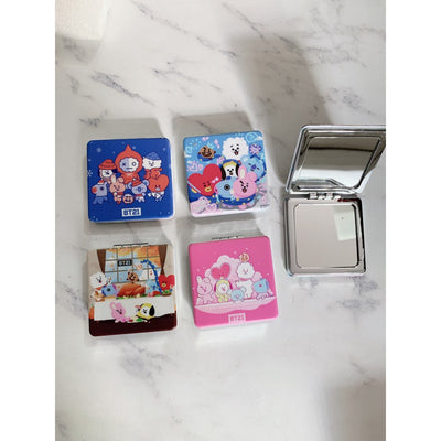 BT21 Square Mirror