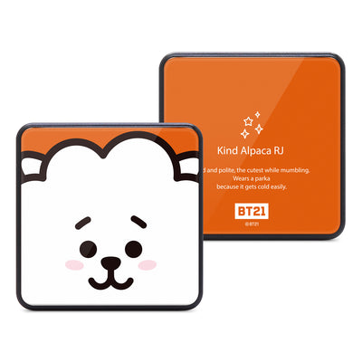 BT21 BTS Square Mobile Power Bank