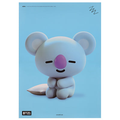 BT21 Waterproof Poster