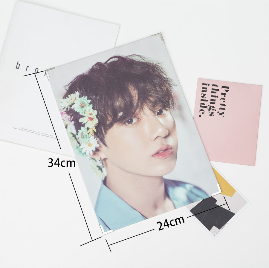 BTS Flower Boys Card