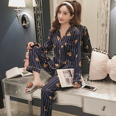 Ice Silk Pajamas