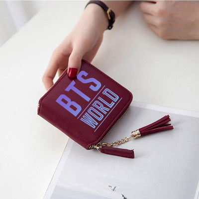 BTS  Multi-Card Short Wallet
