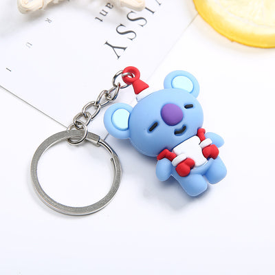 [ Buy 1 Get 1 For FREE ] BTS BT21 Christmas Keychain