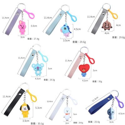BTS BT21 Cute Keychain