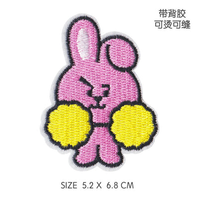 BTS BT21 Embroidery Clothing Stickers