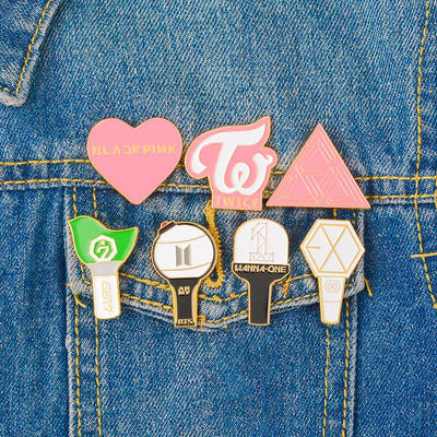 Kpop Cute Cartoon Brooch