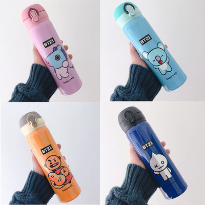 BT21 Stainless Steel Thermos Bottle