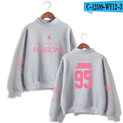 BTS Album Map Of The Soul Sweater (Gray-Jimin)