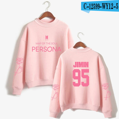 BTS Album Map Of The Soul Sweater ( Pink- Jimin)