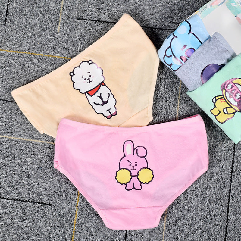BTS- BT21 Colorful Panties