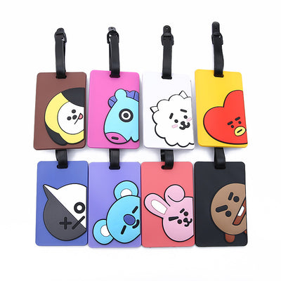 BTS BT21 Colorful Luggage Card