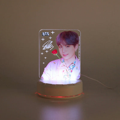 BTS Colorful Led Lamp