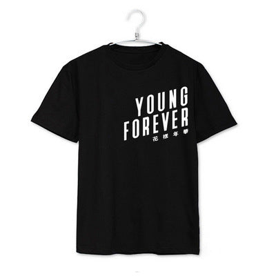 BTS Young Forever Short Sleeves T-shirt